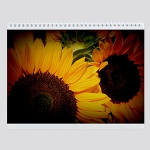 Sunflower Photo Details Wall Calendar